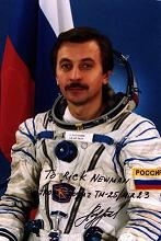 Alexander Ivanovich Lazutkin - Feb 10, 1997 Flight: Soyuz TM-25
