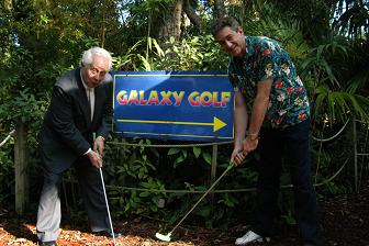 Bob May & Rick Newman at the South Florida Science Museum