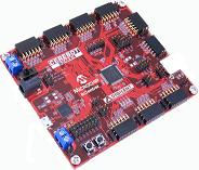 The Digilent Cerebot 32MX4 Controller Module