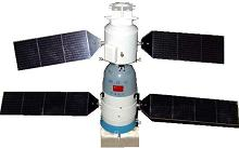 China's first orbital spacecraft, the Shen Zhou-1