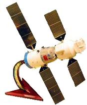 China's ShenZhou-5 Spacecraft Model