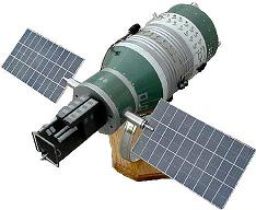 Russian DOC-7 Orbital Laser Weapon Spacecraft Model