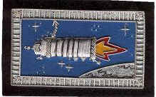 Soyuz TMA-1/TM-34-ISS flown Progress Spacecraft Patch