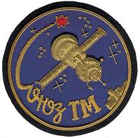 Soyuz TMA-1/TM-34-ISS flown Soyuz TM Patch