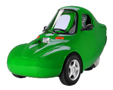 A Green Sparrow Electric Vehicle