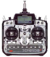 JR Model XP103 Digital Transmitter