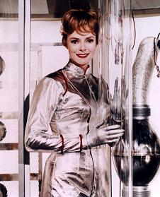 "June Lockhart as Mrs. Robinson from ""Lost in Space"""