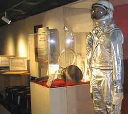 Here is our suit on display at the South Florida Science Museum located in West Palm Beach