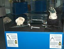 Here are our Orlan Space Gloves on display at the Museum of Discovery in Fort Lauderdale, Florida