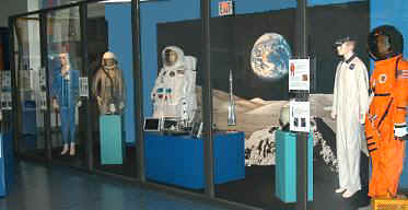 Our Space Suits on exhibit at the Museum of Discovery & Science in Fort Lauderdale, Florida