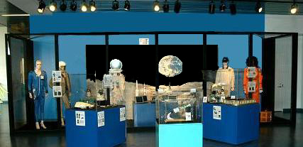 Here are space artifacts on display at the Museum of Discovery & Science in Fort Lauderdale, Florida.