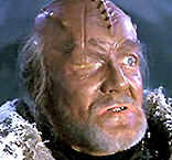 W. Morgan Sheppard as a Klingon