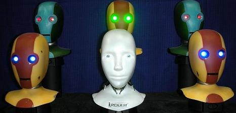 Here are our some of our NS-4 & NS5 heads from the movie I, Robot