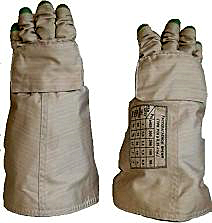 Flown/Authentic  Russian ORLAN EVA Space Gloves