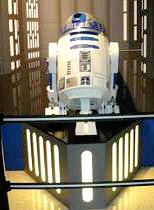 R2D2 stands proudly at the SFSM