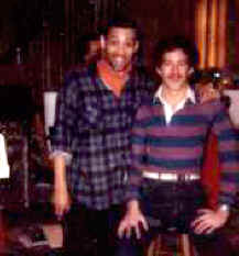 Rick with Maurice Hines