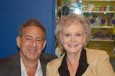Rick Newman with June Lockhart
