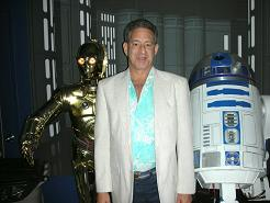 Rick Newman with R2D2 & C3PO