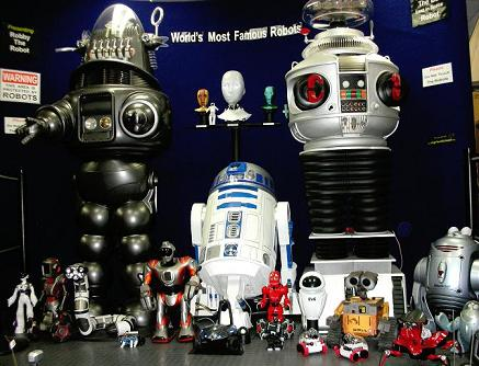 Part of our Robot Collection