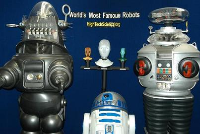 Here is our R2D2 with some of his famous friends