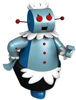 "Rosie the Robot from the TV Show ""The Jetson's"""