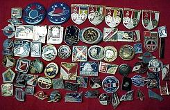 Russian Space Program Pins & Badges