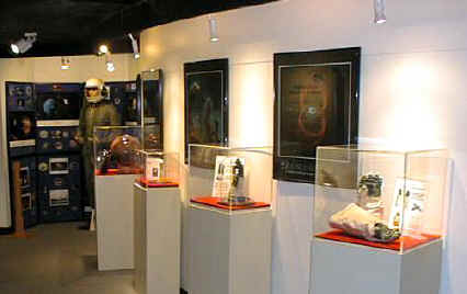 Here is part of our collection on display at the South Florida Science Museum in West Palm Beach, Florida