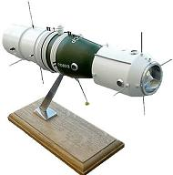 Russian Soyuz-1 Spacecraft Model