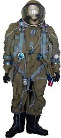 Complete Strizh / Buran Spacesuit