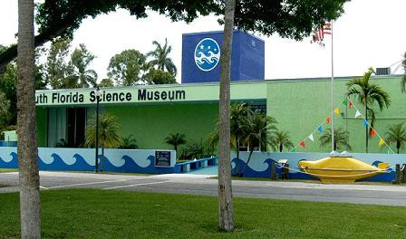 The new look at the South Florida Science Museum as of April 20, 2008