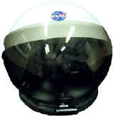 U.S. Space Center Training Helmet