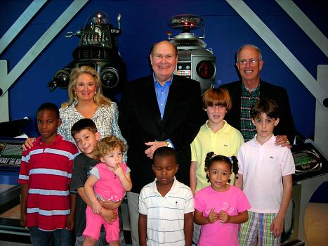 The TODAY's SHOW Willard Scott & friends with our Full Size Robots at the SFSM