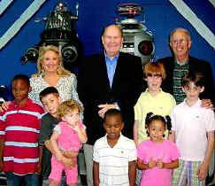 NBC's Willard Scott Visits Our Robots at the South Florida Science Museum