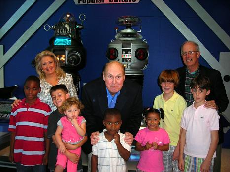 Willard Scott visits the South Florida Science Museum