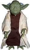 "Our Animatronic, Talking ""Yoda"" from Star Wars"