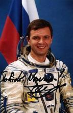 Yuri Pavlovich Gidzenko - Sept 3, 1995 Flight: Soyuz TM-22, Dec 8, 1995 Flight: EVA Soyuz TM-22-2, Feb 8, 1996 Flight: EVA Soyuz TM-22-3, Oct 31, 2000 Flight: Soyuz TM-31, April 25, 2002 Flight: Soyuz TM-34
